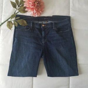 J BRAND dark wash Oblivion Capri jeans plus size